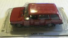 "DIE CAST "" LADA 2104 "" AUTO DELL' ESTE SCALA 1/43"