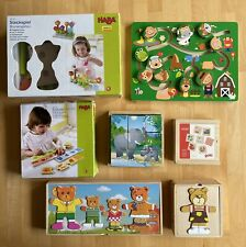 Holzspielzeug Paket Haba, Goki, Eichhorn Etc.