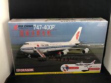Dragon Air China 747-400P Airliner 1:144 Scale Plastic Model Kit 14701 NIB