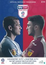EFL LEAGUE TWO PLAY OFF FINAL 2018 Coventry City v Exeter City