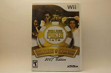 World Series of Poker Tournament of Champions (Nintendo Wii, 2006)