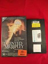 Vhs Video Tape The Talented Mr Ripley Ex Rental Civic Video