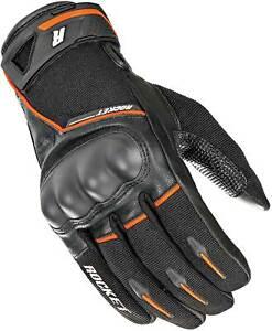 Joe Rocket Supermoto Gloves - Motorcycle Street Bike Riding Touchscreen Textile