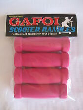 New GAFOI Grips for Razor Scooters (Multi-Pack) Pink/Pink