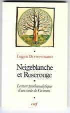 EUGEN DREWERMANN PSYCHOLOGIE CONTE DE GRIMM