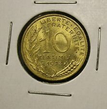 1978 FRANCE - 10 CENTIMES - NICE FRENCH COIN