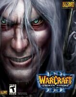 Warcraft III Frozen Throne Expansion PC Game Windows/Mac CD-ROM BRAND NEW SEALED