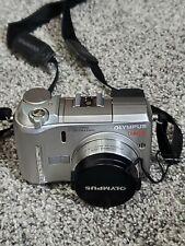 Olympus C-750 4MP Digital Camera Silver 10x Optical Zoom
