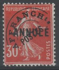 "FRANCE COURS INSTRUCTION PREOBLITERE 58-CI 1 "" SEMEUSE 30c ROUGE""NEUF x TTB N198"