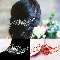 Bride Bridal Hair Comb Wedding Headwear Pearl Women Jewelry Hair Accessory Gift