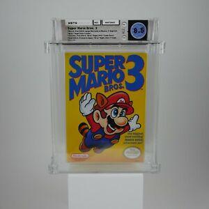 Super Mario Bros. 3  |  WATA 8.5 CIB  |  9.2 Box, 9.4 Manual, 9.2 Insert