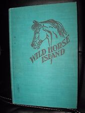 Wild Horse Island Elisa Bialk Vintage Kids Horse Book Illustrated PAUL BROWN HC