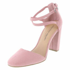 995fa068d93c CHRISTIAN SIRIANO Pink Suede KAM Round Toe 3 3 4