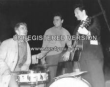 "Adam Faith / Cliff Richard / Lonnie Donegan 10"" x 8"" Photograph"