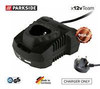 NEW 2ah/4ah Battery Charger PLGK12 A2 for Parkside 12V Angle Grinder PWSA 12 B1