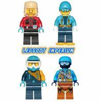 Lego City Arctic Minifigures - Explorer Biologist Driver Climber FREE POST