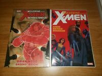 Wolverine And The X-Men SC Vol 1 + Alpha and Omega HC New Sealed Quentin Quire