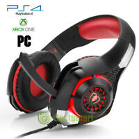 Pro Gaming Headset -LED Microphone Headphone for PS4,Nintendo Switch,Xbox One,PC