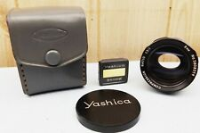RARE VINTAGE YASHICA SCOPE ANAMORPHIC LENS 1.5:1 8mm IN LEATHER POUCH