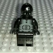 Lego Star Wars minifigure - Black Protocol Droid from 10188