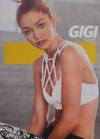 GIGI HADID - A2 Poster (XL - 42 x 55 cm) - Model Clippings Fan Sammlung NEU