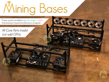 GPU mining rig BASE FRAME - just add GPUs to get started. PSUs included.