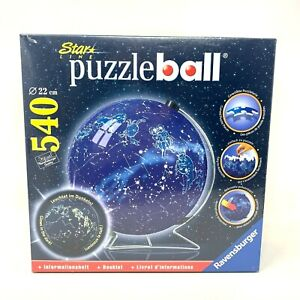 Ravensburger Star Line Celestial Map Puzzle Ball 3D 540 22cm Pieces Glow in Dark