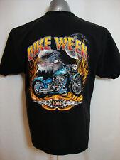 Men's XL J&P CYCLES Bike Week 2002 Black Short Sleeve t-shirt PREOWNED