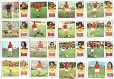 Lote de 16 cromos de futbol album 1973/74 FHER: C.R. Murcia (Equipo completo)