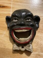 Clown Cast Iron Bottle Opener Ole Masters Brewery Coca Cola Beer Solid Metal Vg