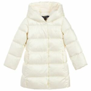 NWT Ralph Lauren Polo Girls Quilted Hooded Down Jacket 5