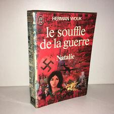 Herman Wouk LE SOUFFLE DE LA GUERRE tome 1 : NATALIE J'ai Lu POCHE 1975 - CD29C