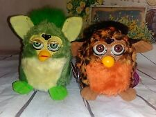 AS IS Tiger Electronics Original FURBY leopard & Green 1998 Vintage