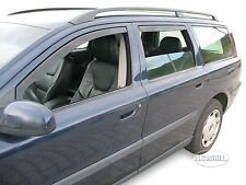 VOLVO V70 Estate 5 doors 2000-2007 SUN SHADE + WIND DEFLECTORS 4pcs set HEKO
