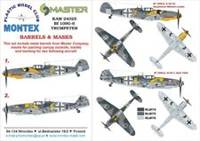 Montex KAM 1:24 Bf-109 G-6 #2 for Trumpeter Mask+Metal Part #KAM24025