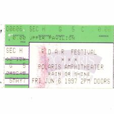 IGGY POP & SEVENDUST & BLOODHOUND GANG Concert Ticket Stub 6/6/97 COLUMBUS OHIO