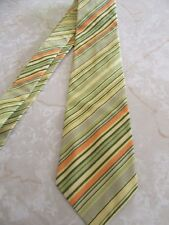 Me and Matilda Boutique Cotton Mens Tie Green Yellow Orange Easter Spring