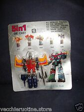 ROBOT 5 in 1 K1 SPARA PUGNI Die Cast ROBOT Knock Off Transformers MICROTRON ALES