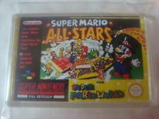 SUPER NINTENDO  GAME COVER FRIDGE MAGNET SUPER MARIO ALLSTARS / MARIO WORLD