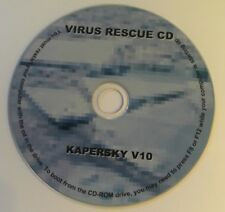 DOWNLOAD VIRUS RESCUE CD KAPERSKY VERSION 10 for 32 & 64 BIT OPERATING SYSTEMS