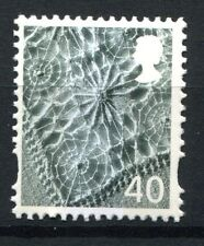GB QEII Northern Ireland. SG NI97 40p Linen Pattern. Regional Machin Stamp MNH