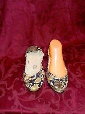 Women's Snakeskin Ballet Flats