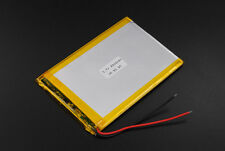 "3.7V 2000mAh li-ion battery 356090 For 7"" 7inch 8"" 8inch Tablet pc 35x60x90mm"