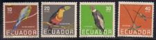 Ecuador 1958 Sc #634-37 Birds MNH (2-7746)