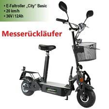 MESSERÜCKLÄUFER E-Scooter Elektro Roller eCity 500 Watt