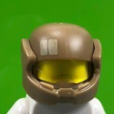 LEGO Star Wars Minifigure Trooper Military Helmet with Visor - Dark Tan (x1)