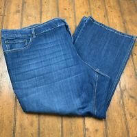 Old Navy Womens The Flirt Bootcut Stretch Jeans Plus Size 30 Short Blue Stretch