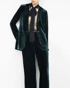Zara Velvet Trouser Suit
