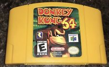 Donkey Kong 64 (Nintendo 64, 1999) Authentic N64, Cleaned, Tested