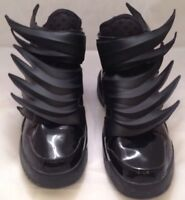 c3992658b43a Adidas Jeremy Scott Black Wings 3.0 Dark Knight Batman Size 10 (D66468)